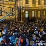 Во время акции в поддержку Стерненко пострадали 27 правоохранителей