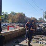 В Днепре взорвался автомобиль: сообщают о заказном убийстве и террористическом акте